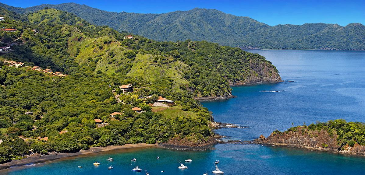 Guanacaste aerial view